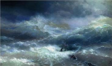 Wave Ivan Aivazovsky public domain