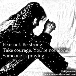 Someone is Praying