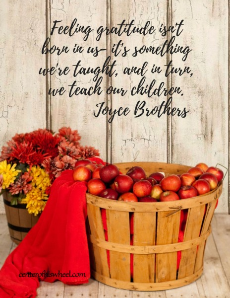Gratitude Quote Joyce Brothers