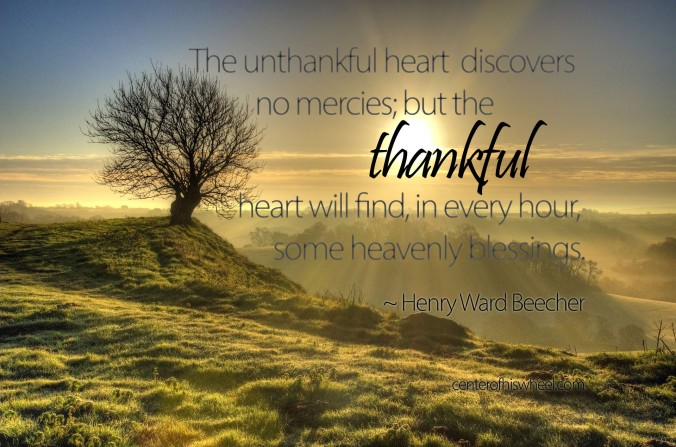 The Unthankful Heart Henry Ward Beecher