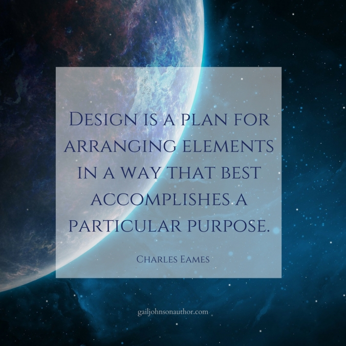 is a plan for arranging elements in a way that best accomplishes a particular purpose(1)